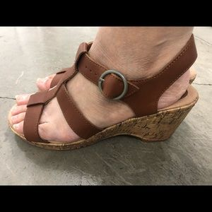 Great Northwest Brown Leather  Strappy Sandals